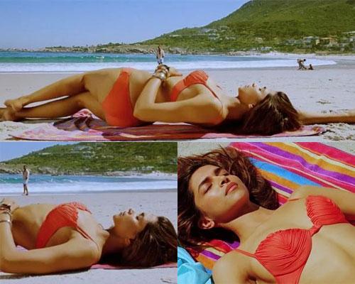 Deepika Padukone hot bikini beach photos