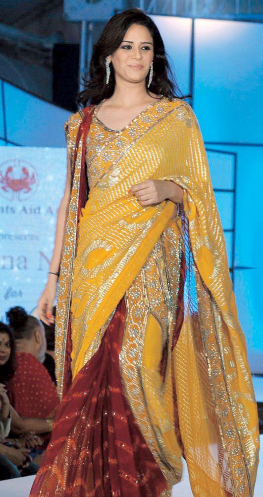 Mona Singh In Saree