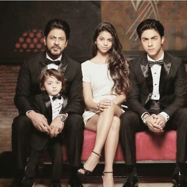 Suhana Khan, Shah Rukh Khan, Abraam & aryan Family Photos