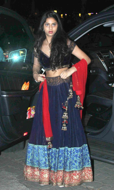 Suhana Khan photo in Ghaghra Choli