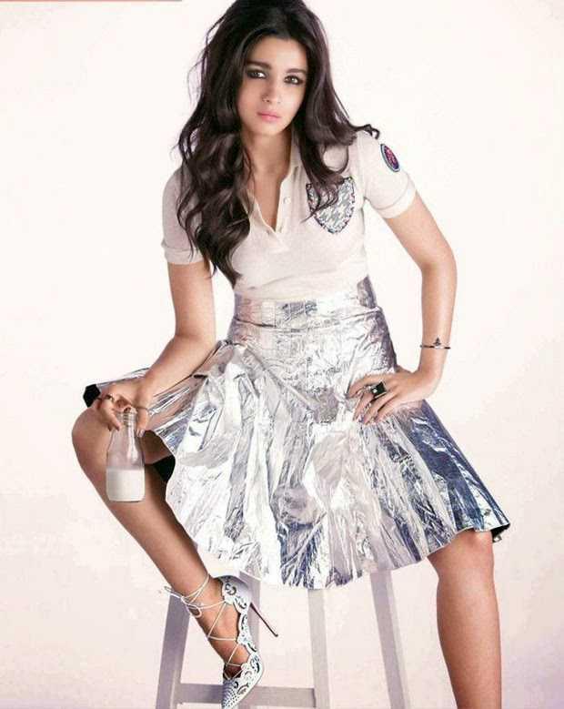 Alia Bhatt Photoshoot Stills For Vogue Magazine