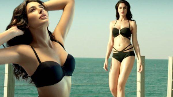 Nargis-Fakhri-hot-Sexy-Bikini-Photos-images-pics-600x338 Nargis Fakhri 11+ Unseen Bikini Swimsuit Images Age & Wiki