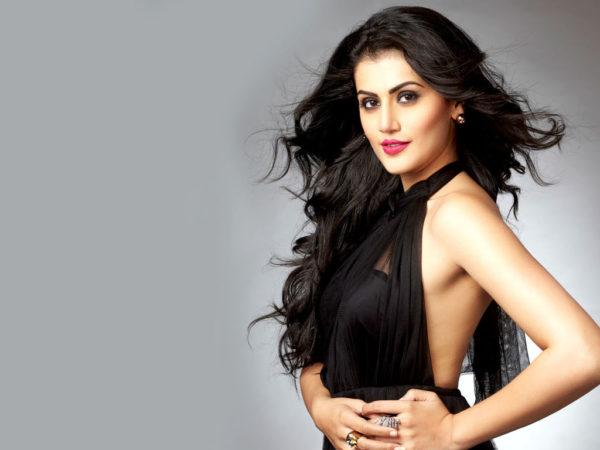 Taapsee-Pannu-HD-Wallpapers-600x450 Taapsee Pannu 11+ Unseen Bikini Picture Scorching Attractive Swimsuit Images Age & Toes Wiki