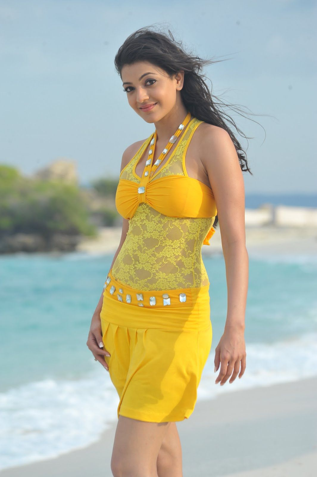 kajal-aggarwal-movies Kajal Aggarwal 21+ Bikini Picture, Scorching Attractive Swimsuit Picture Picture Age Peak Wiki